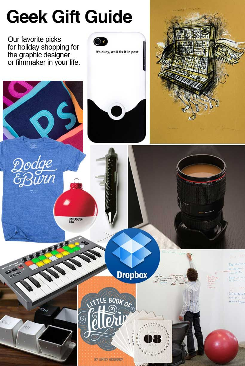 Gifts For Graphic Designers And Gifts For Filmmakers 2013