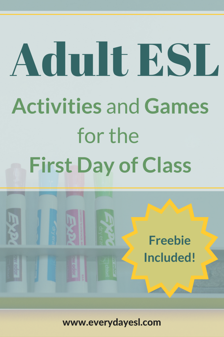 How to Nail Your First Day of Class: Games, Activities, and MORE!