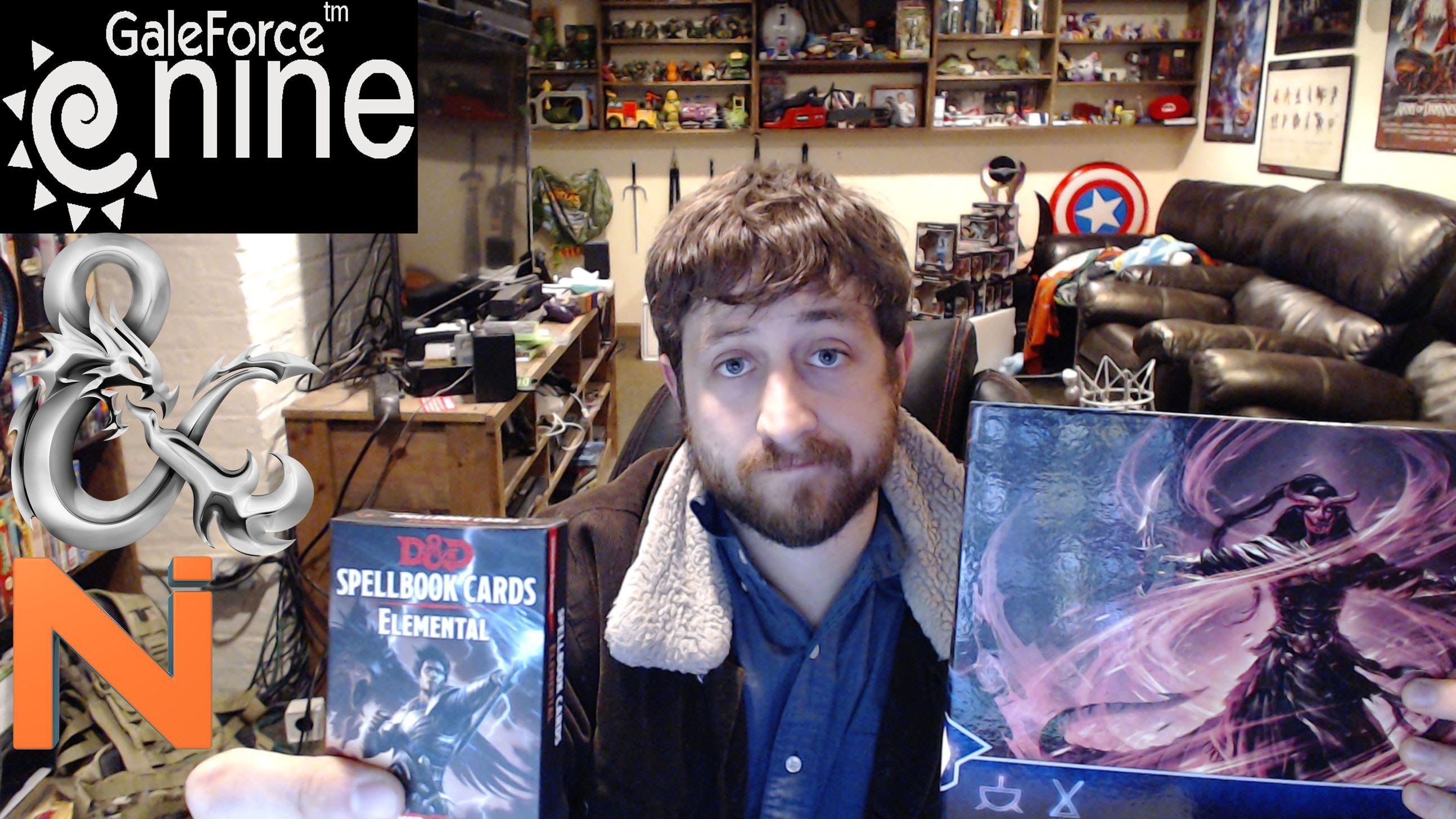 d d 5th edition elemental evil dm screen and spellbook card review