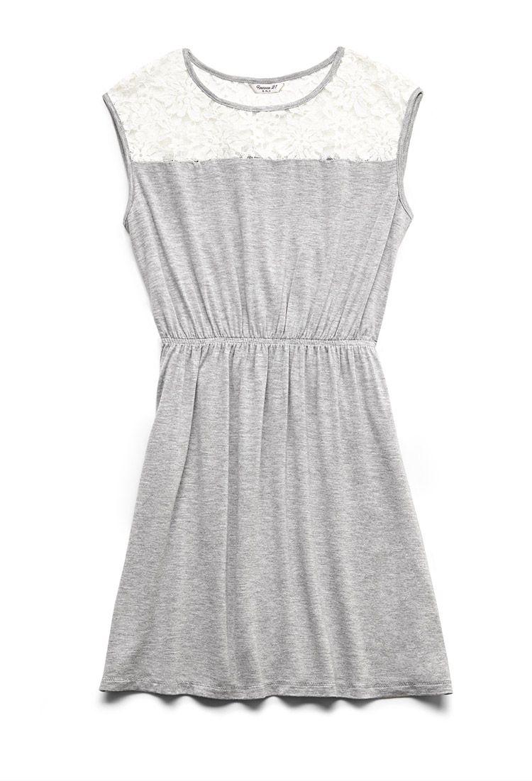 273996c41a97 Lace Paneled Dress (Kids)
