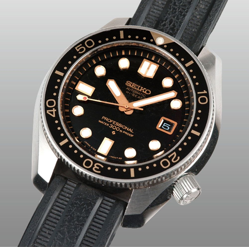 Original 6159 7000 Dive Watches Seiko Diver Retro Watches