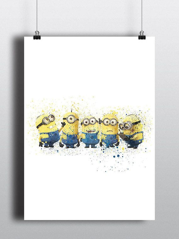 Minions Poster Print