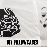 DIY Star Wars pillowcases! - canvas goody bags?