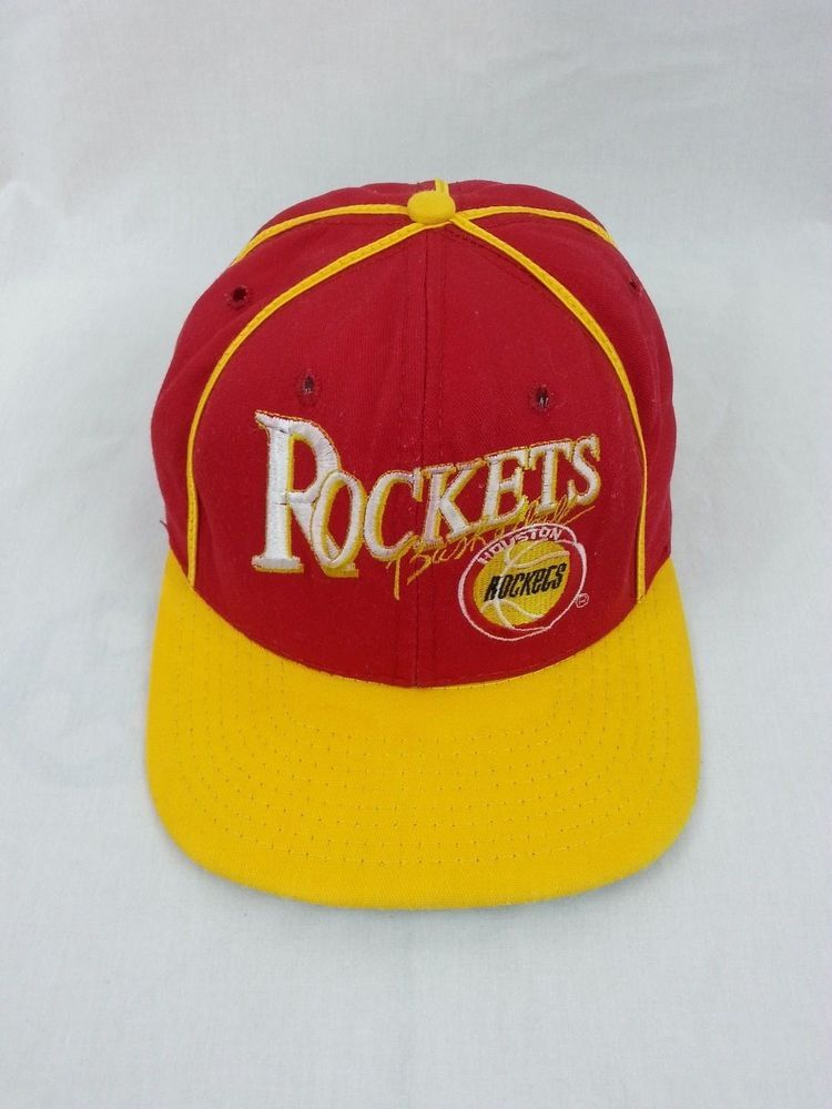 fbd59ffb4aceb HOUSTON ROCKETS Vintage Snapback Limited Edition RARE NBA Hat - Only 2000  Made!  rockets  houstonrockets