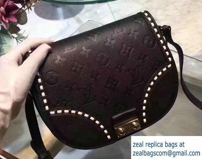 0c1012d36b2d2 Louis Vuitton Monogram Empreinte Junot Bag M43143 Noir Beige 2017 ...