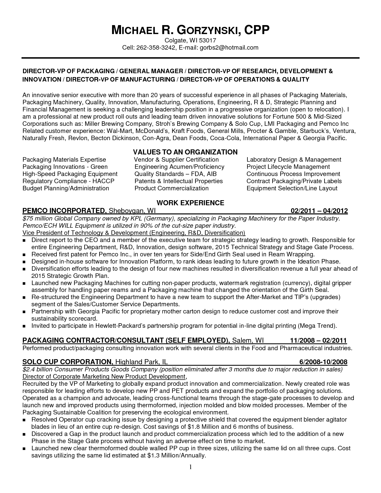 Technician Resume Innovation Engineer Resume  Google Search  Resumes  Pinterest
