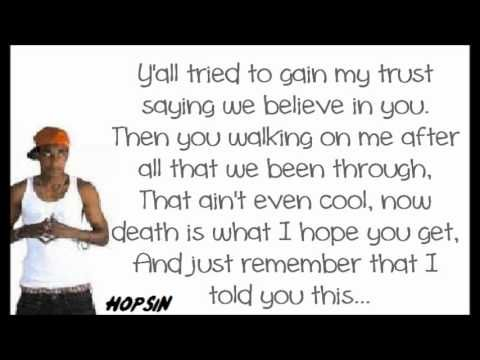 Leave Me Alone By Hopsin WITH LYRICS - YouTube | Hopsin