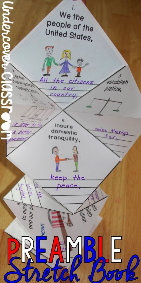 Here Is A Unique Way To Teach About The Preamble To The U S Constitution Great Activity Fo Constitution Day Constitution Activities Social Studies Elementary Preamble to constitution worksheets