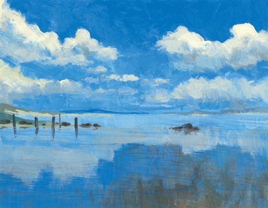 Painters Online How To Paint Skies Various Mediums