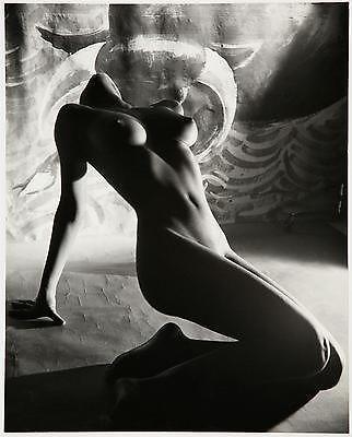 Fabulous large format fine art nude photograph by Peter Basch vintage erotica