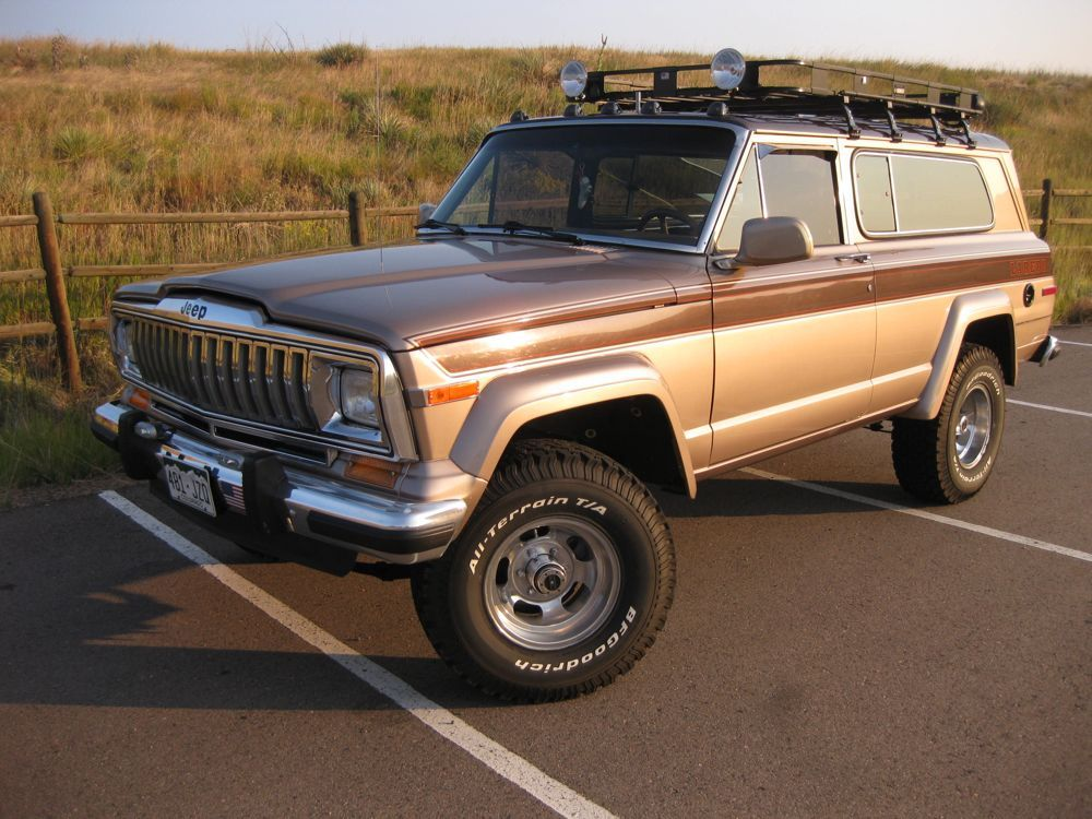 Strode 1982 Cherokee Laredo Build Page 34 International Full Size Jeep Association Jeep Suv Jeep Wagoneer Jeep Cherokee