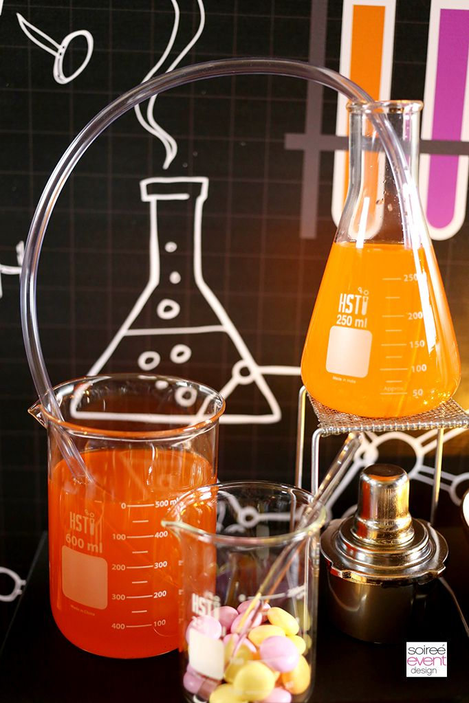 Halloween Spooky Lab Science Party with Fanta and OREO Mad science - halloween party decorations cheap