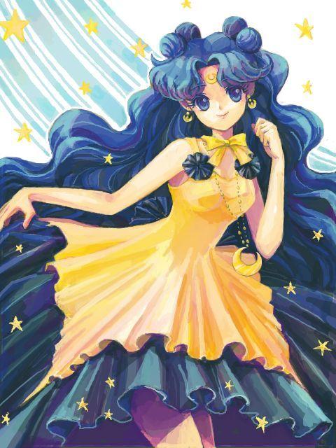 sailor moon luna human figure - Recherche Google | Anime hairstyle ...