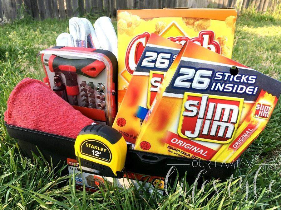 Slim Jim is Perfect Addition to GuyApproved Bold Basket