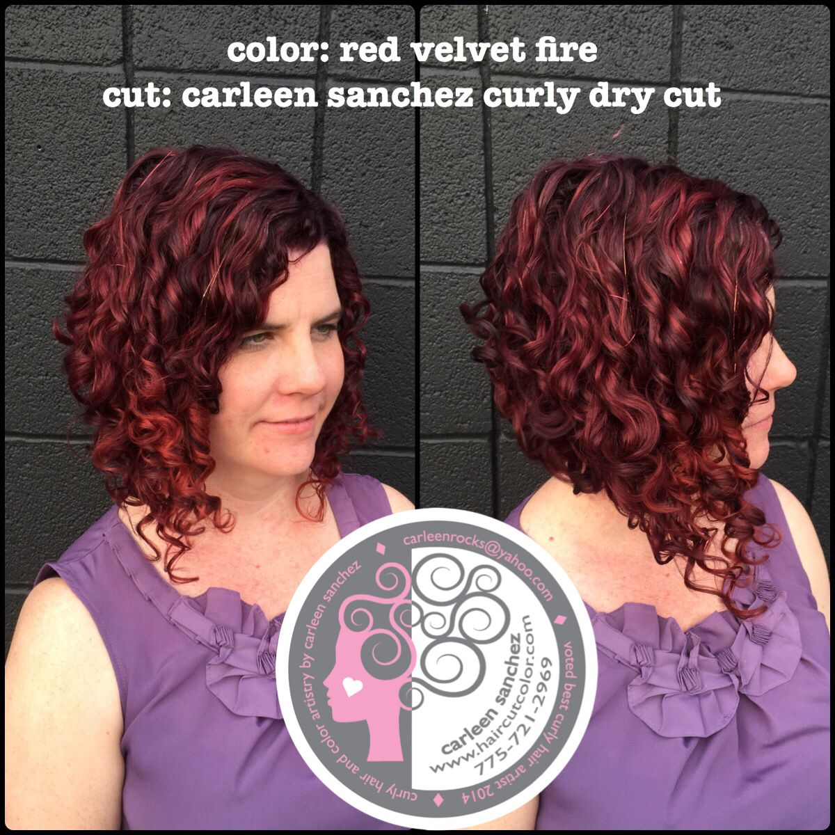 Created By Curly Hair And Color Specialist In Reno Nevada Carleen