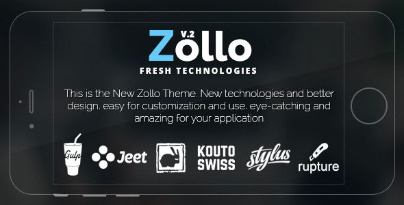 Download Free              Zollo V2 HTML Landing page            #               android #app #apple #clean #creative #form #gulp #html5 #jade #landing #marketing #minimal #responsive #stylus #subscribe