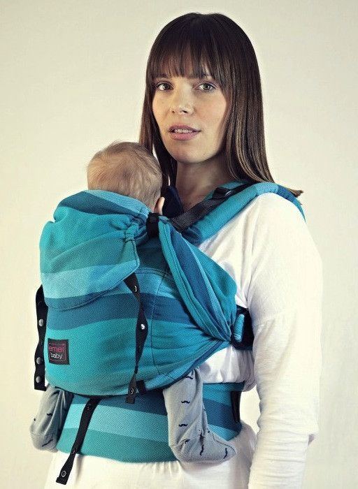 Emeibaby Carrier - Fully Ocean Limited Edition