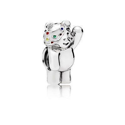 Limited Edition Pudsey Bear Charm - 796255ENMX | Want | Pandora uk