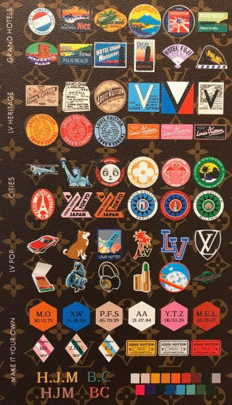 Louis Vuitton My Lv World Tour Stickers Louis Vuitton