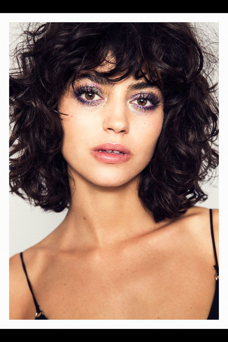 Short Hairstyles For Curly Hair Round Face