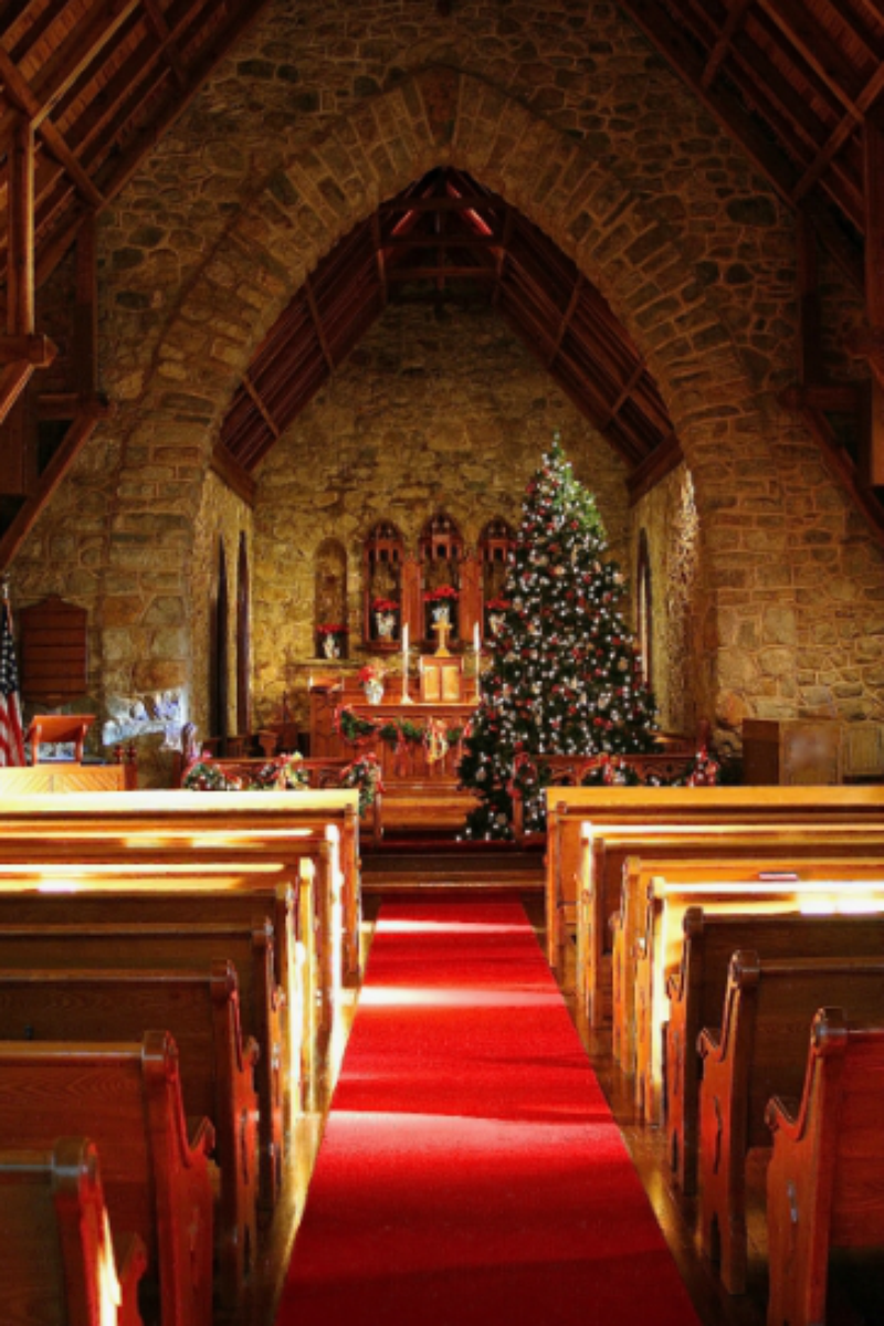 Cragsmoor Stone Church Chapel Of The Holy Name Weddings