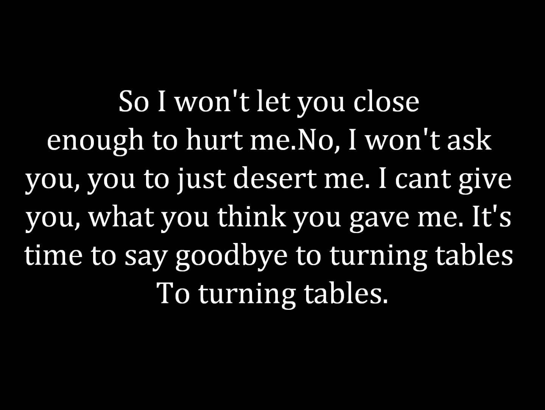Adele Turning Tables Lyrics Adele Turning Tables Lyrics