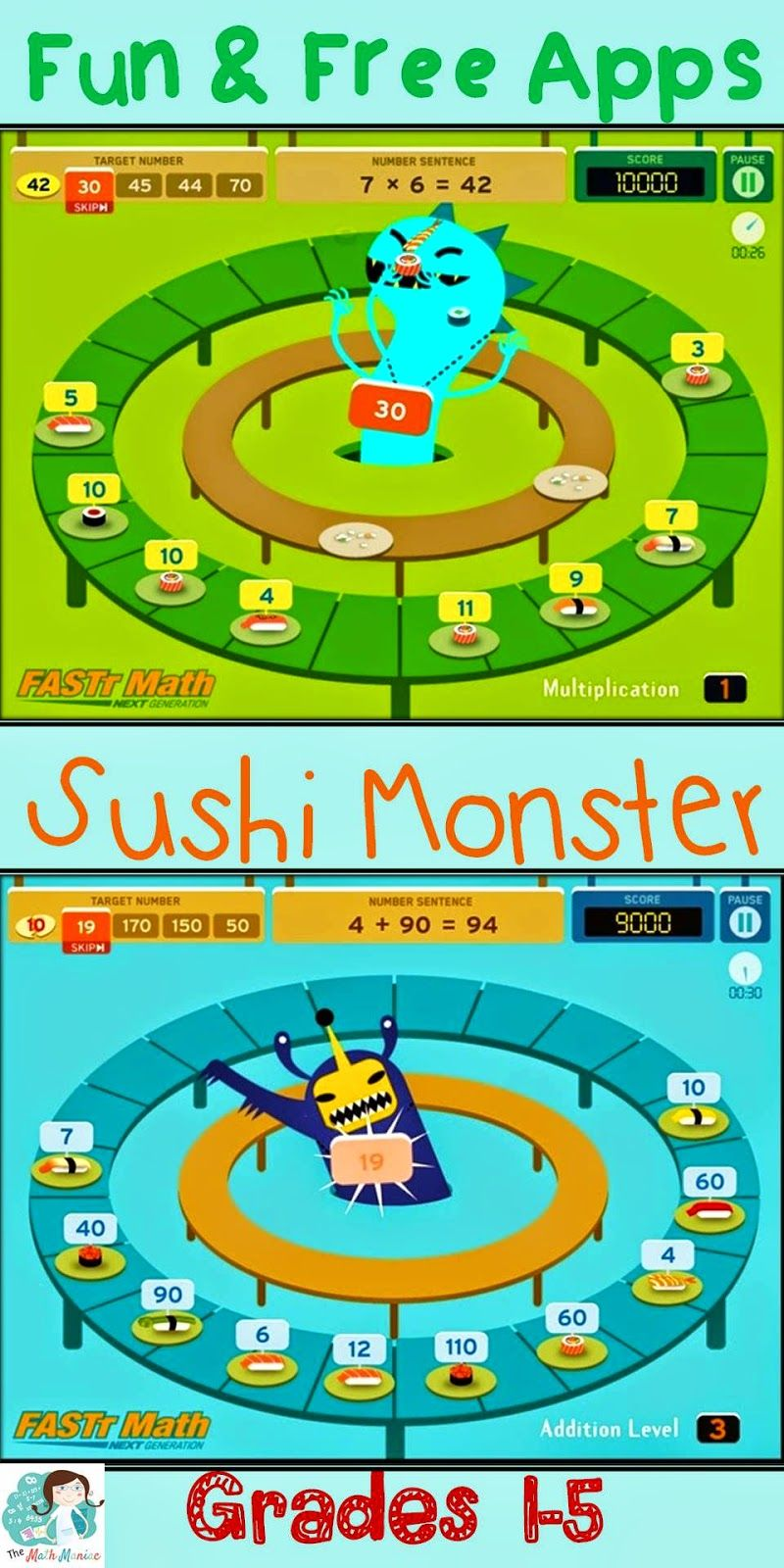 Here is an app I have been using lately with kids in grades 1-5. It ...