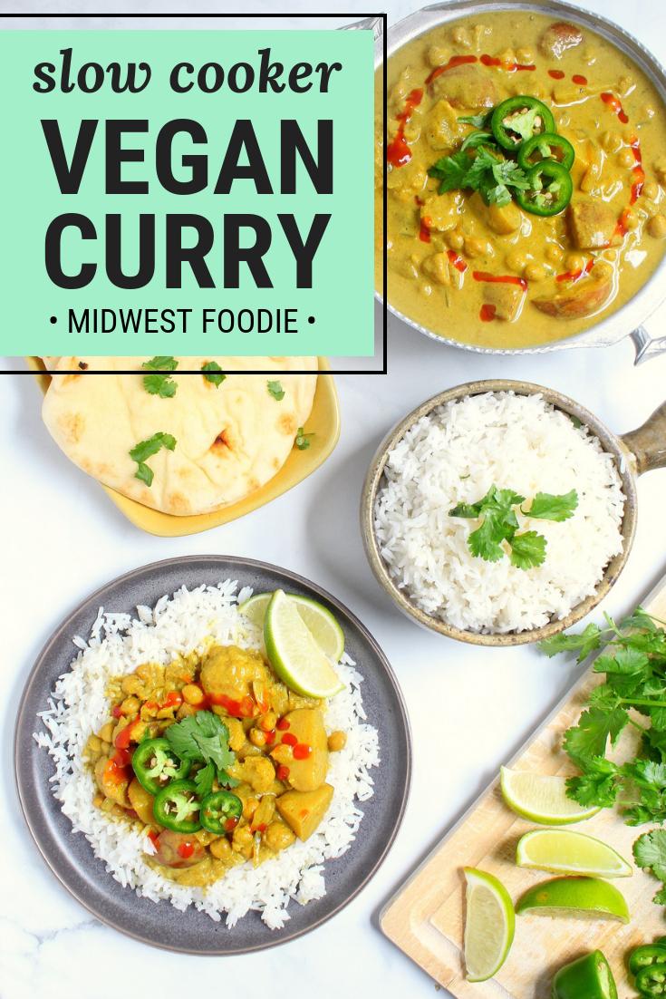 Vegan Slow Cooker Curry