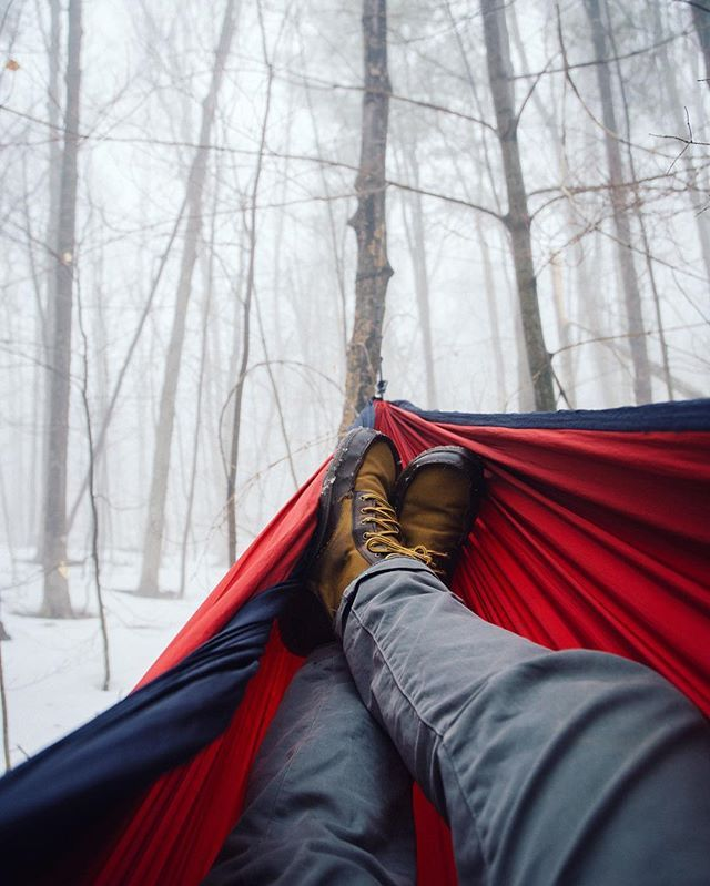 I love the feeling of sitting in a hammock. It had been a while since I'd taken mine out, but the warm weather and dense fog persuaded me to! by jamesplynch. thenortheastcollective #travel #mainelife #teamcanon #mefototripods #epic_captures #awesomeearth #jaw_dropping_shots #mainetheway #wildernessculture #natgeo #newengland #discoverglobe #canon_official #flowfold #beautifuldestinations #llbeanmoment #earthslocations #collectivelycreate #canonfanphoto #travelstoke #canonusa #master_shots…