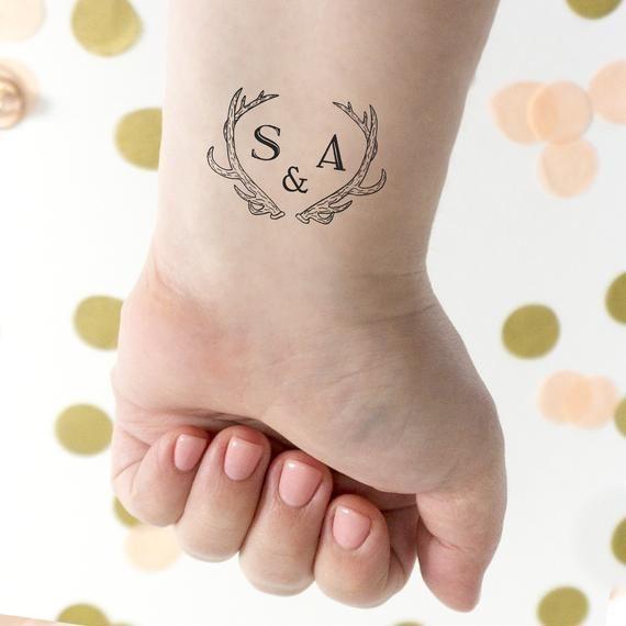 Wedding Venues Near Me Cheap: Wedding Tattoos, Antler Tattoo, Monogram Wedding