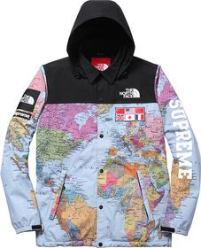 1105f6933eaf If you love me The North Face   Supreme jacket