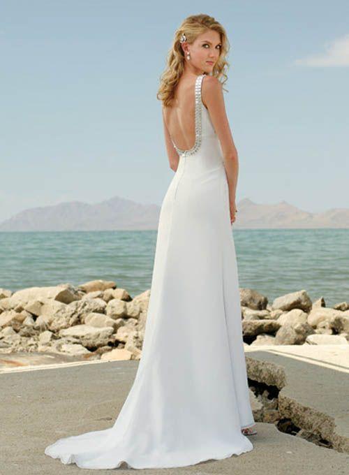 Simple Beach Wedding Dresses | Beach Wedding Dresses – Consider ...