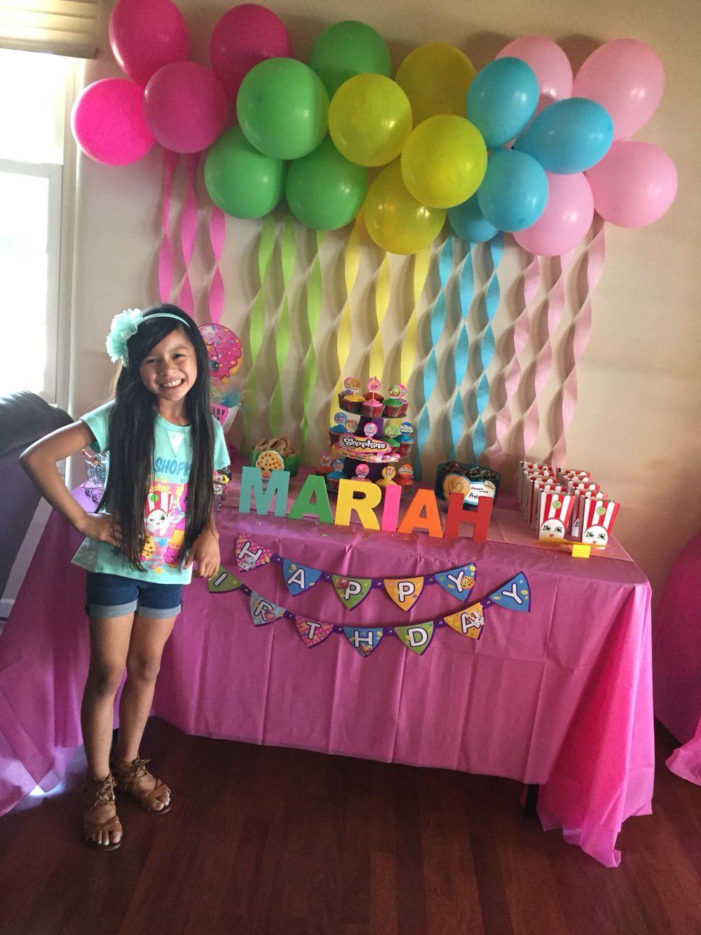 Shopkins Birthday Party Idea | Shopkins Birthday Party ...