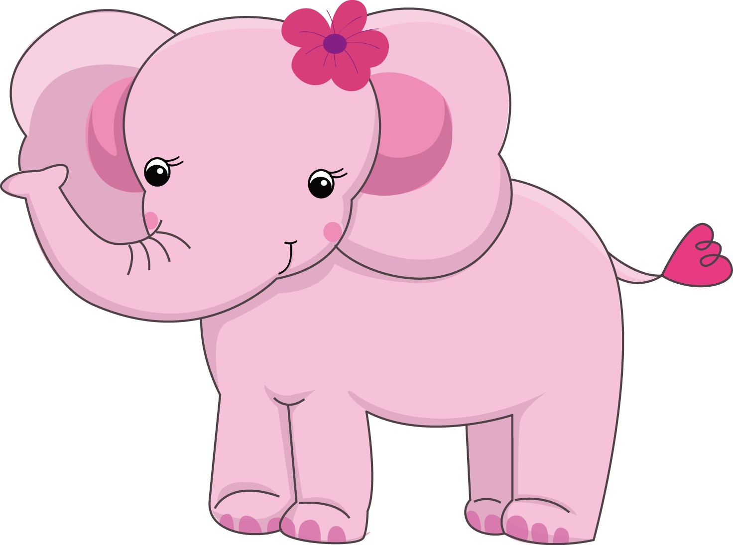 Pretty Pink Girly Jungle Animals 02 Png Elephant Baby Showers Baby Elephant Jungle Animals Download icons in all formats or edit them for your designs. pinterest