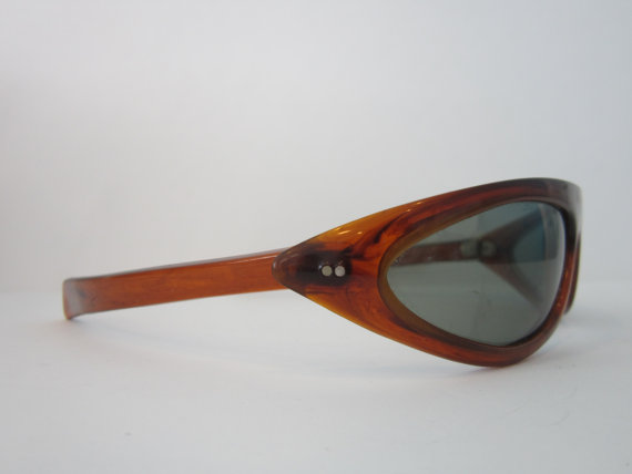 5d39a752428a Vintage Cari Michelle Cool Ray Polaroid Sunglasses Tortoise Shell colour  frames 1960s era