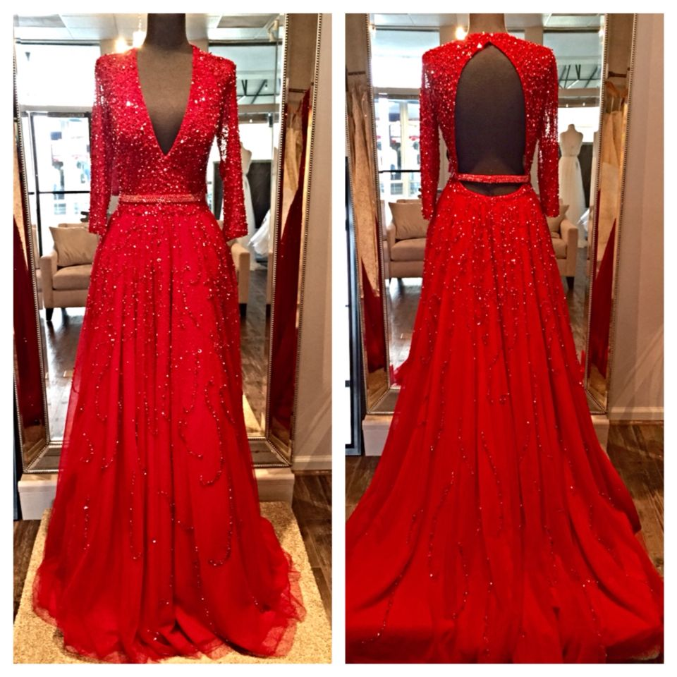new jovani couture now available at mia bella! call for more