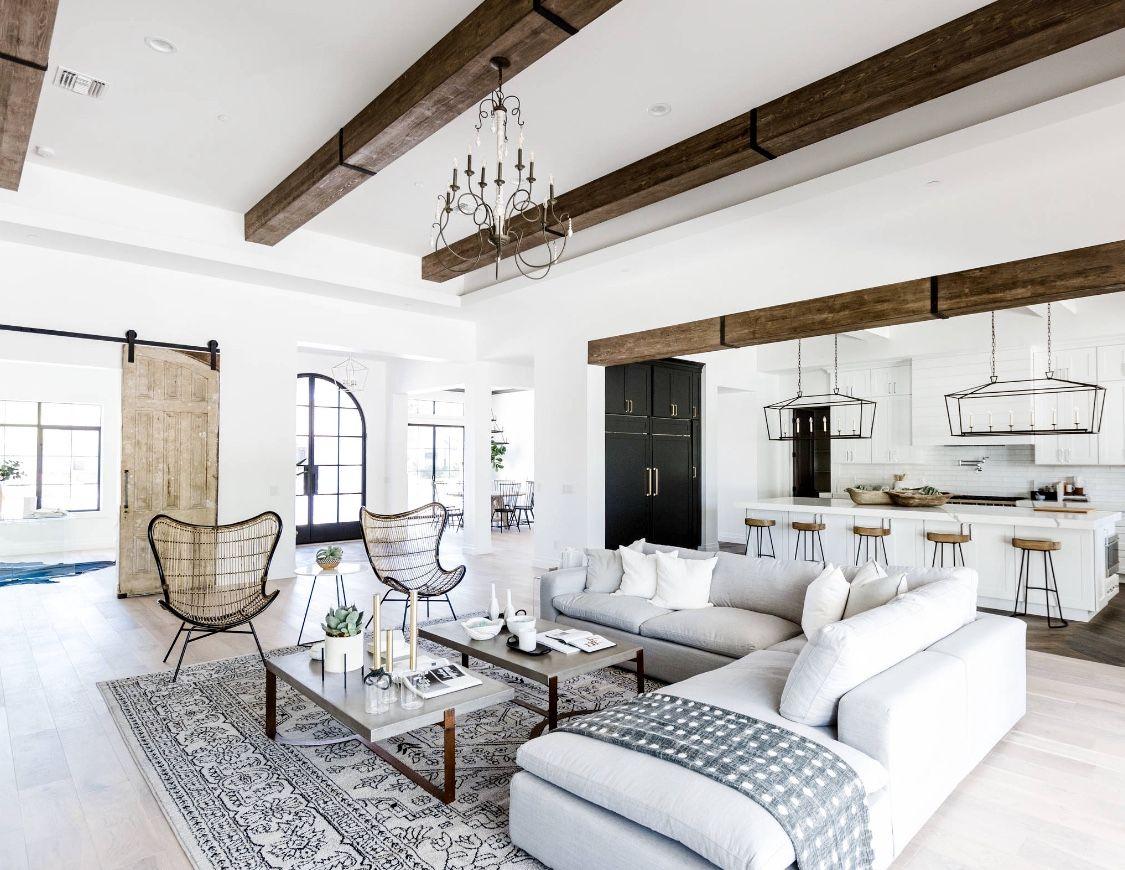 Mediterranean Style White Living Room Decor Perfect Living Room Farm House Living Room Farmhouse Decor Living Room