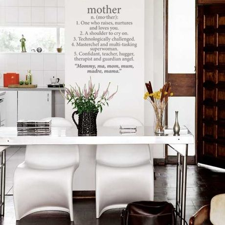 Mother Wall Vinyl \u2013 Grey from Wall Decal Revamp - R229 citymobza