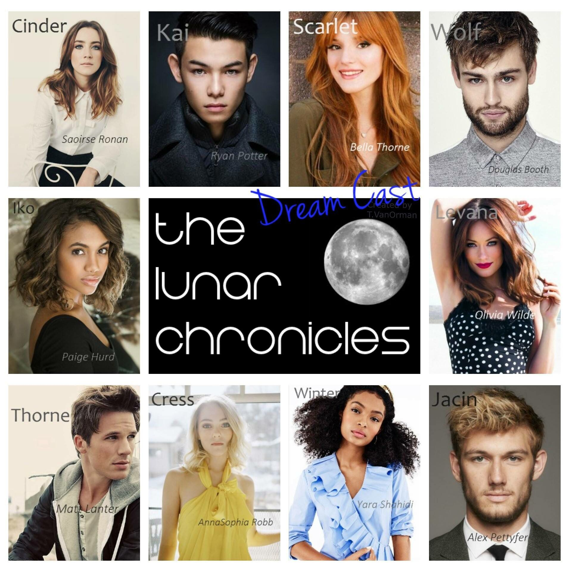 The Lunar Chronicles dream cast. 💓 | Book to Movie dream ...