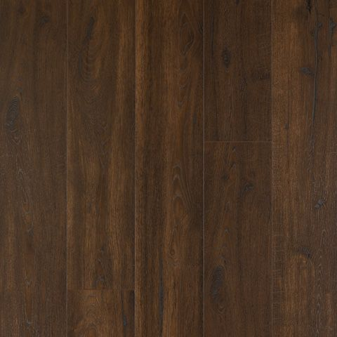 Bourbon Street Oak Textured Laminate Floor Dark Wood Finish 12mm 1 Strip