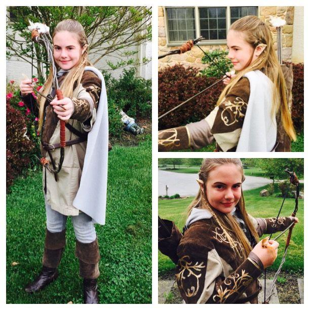 Legolas costume for Emelie   Legolas costume, Costumes ...