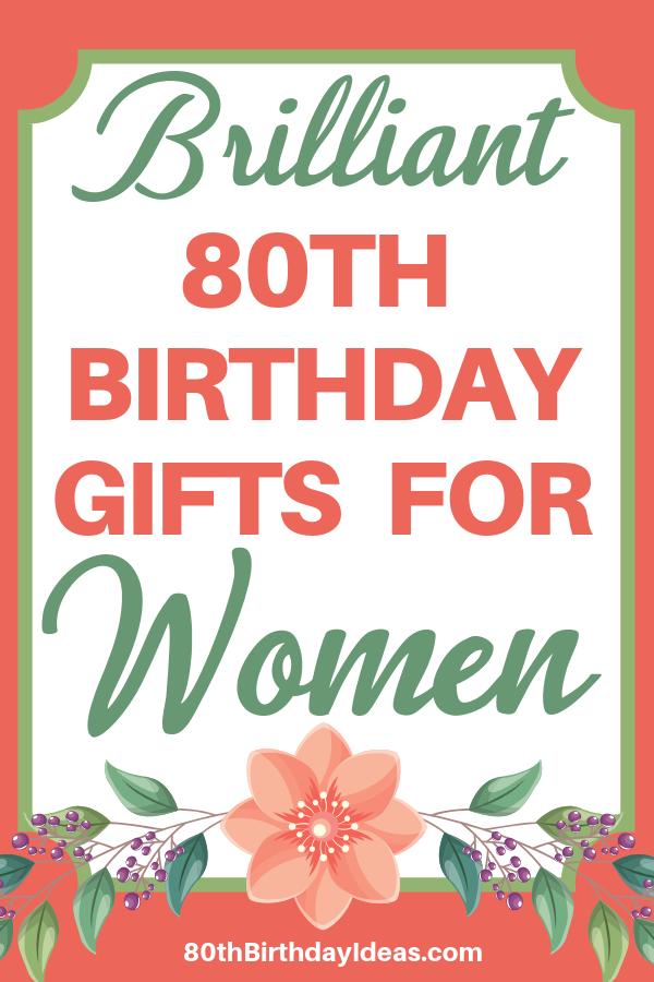 Pin On 80th Birthday Gift Ideas