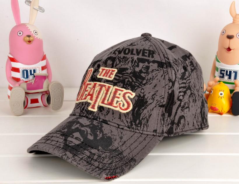 the baseball cap embroidery hat beatles