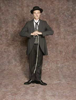 11529444b6c67  50.00 Costume Rental Charlie Chaplin stock- suit pants