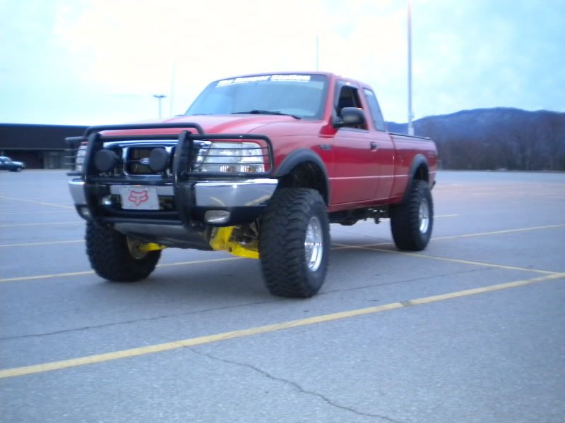ford ranger lifted 3 inches with 3 inch body lift