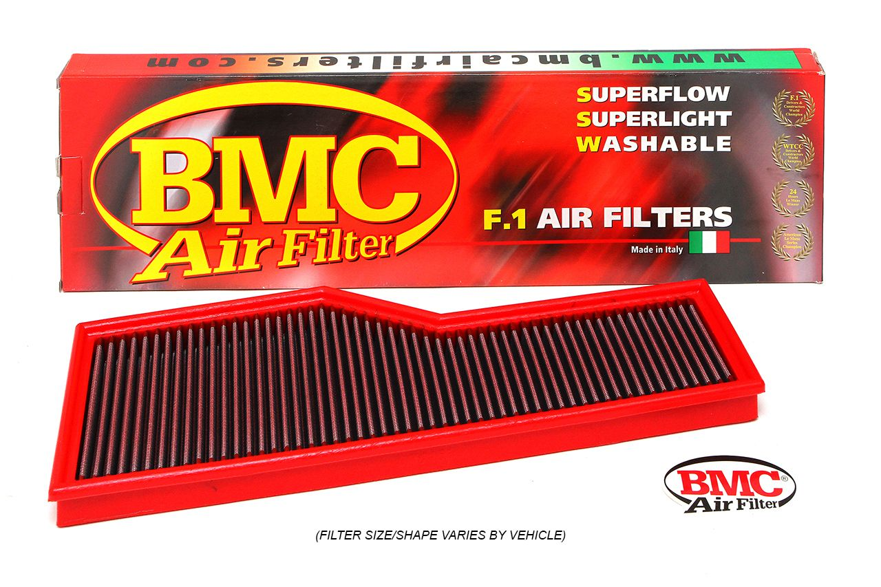 Porsche 955 Turbo / Turbo S BMC F1 Replacement Air Filters