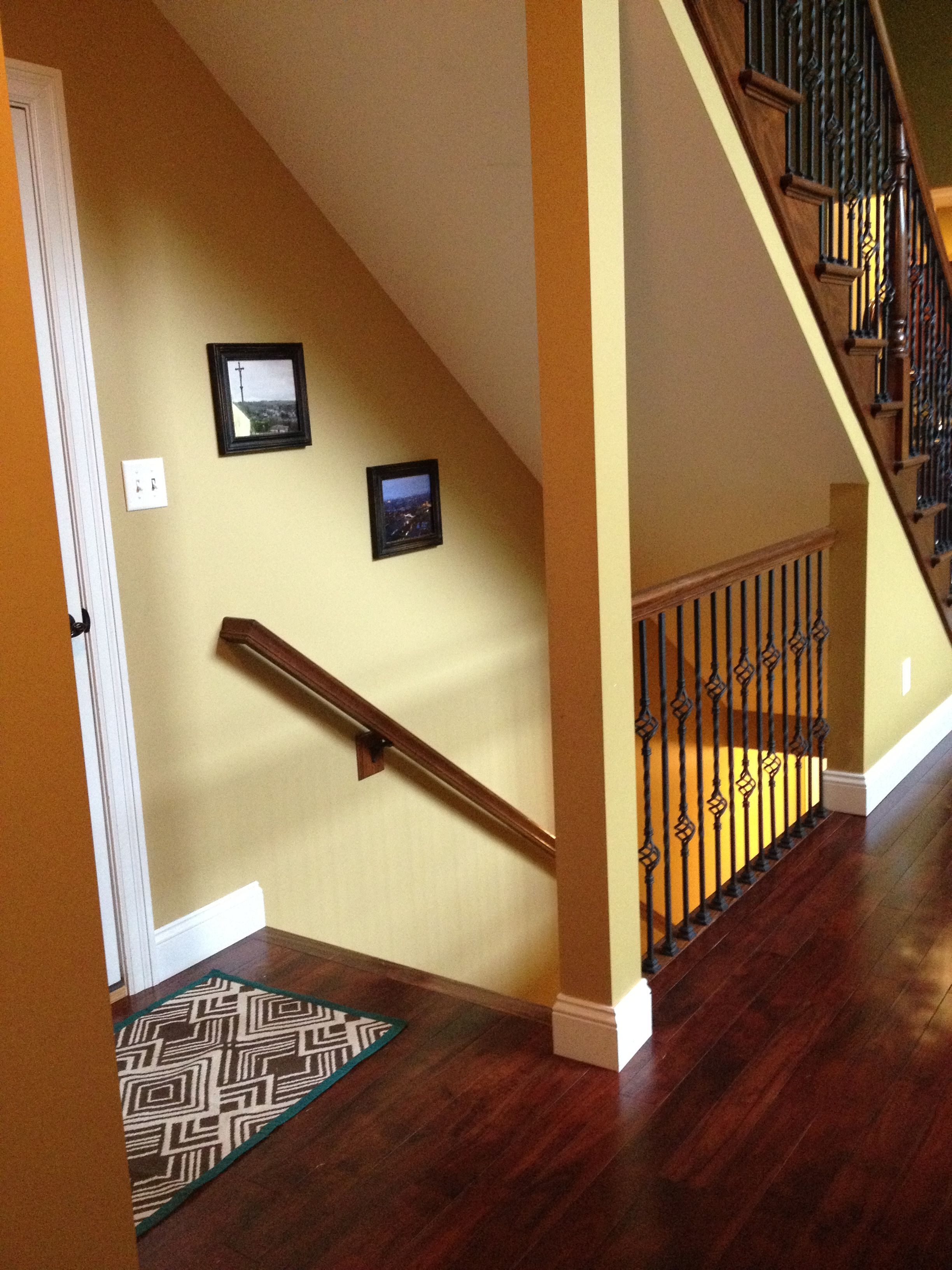 Lighting Basement Washroom Stairs: Exactly What I Want To Do To Open The Stairway To The