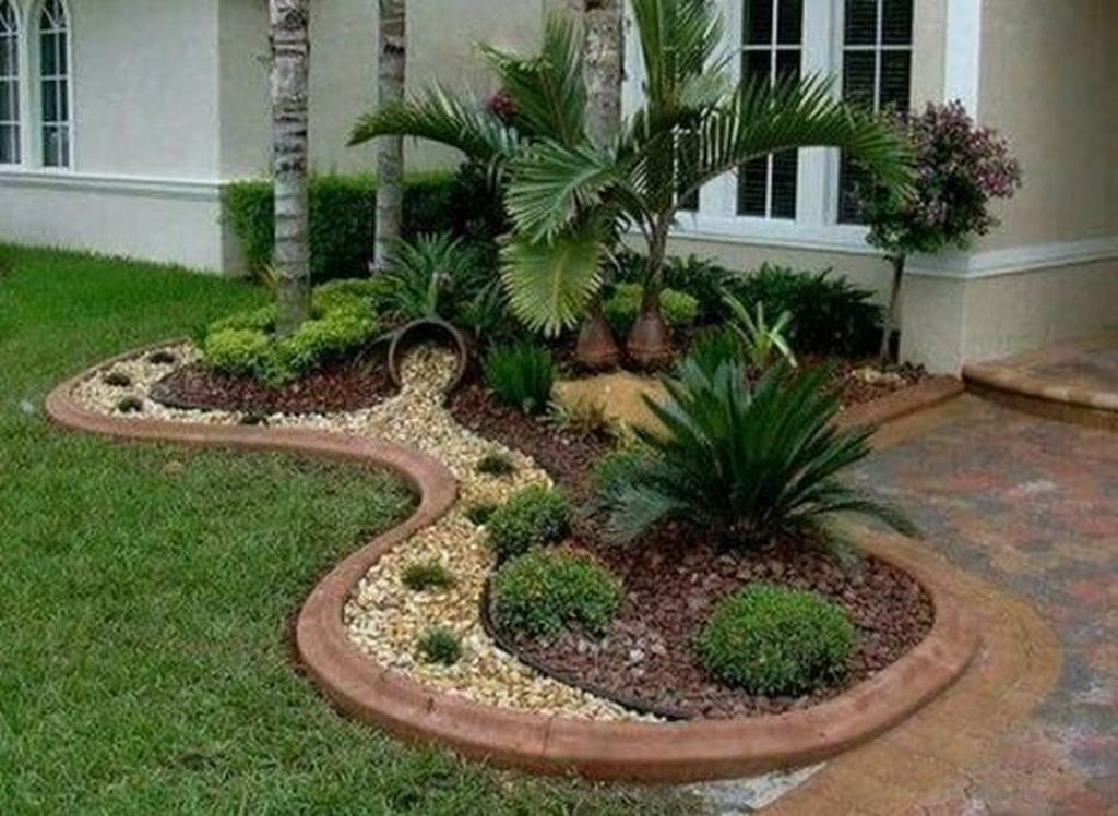 50 Awesome Front Yard Design Ideas Jardin En Gravier Design Jardin