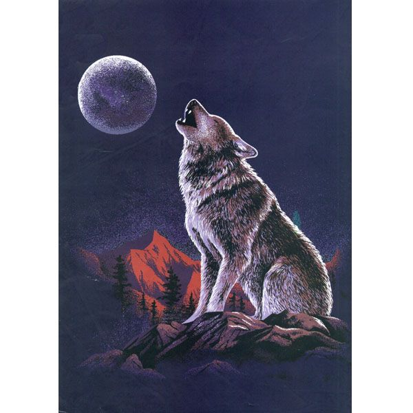 The Night Howling Wolf G531 Blanket is the softest, brightest, and plushest printed blanket on the planet. Can be used at the game, on a picnic, in the bedroom, or cuddle under it in the den while watching TV. These blankets are extra warm, as soft as mink and have superior durability. Made of an acrylic blend.Easy Care, machine wash and dry. Queen Size approx. 200x240 cm or 79x95 in. Buy online www.TheBlanketCompany.com or Call at (801) 280-6200.