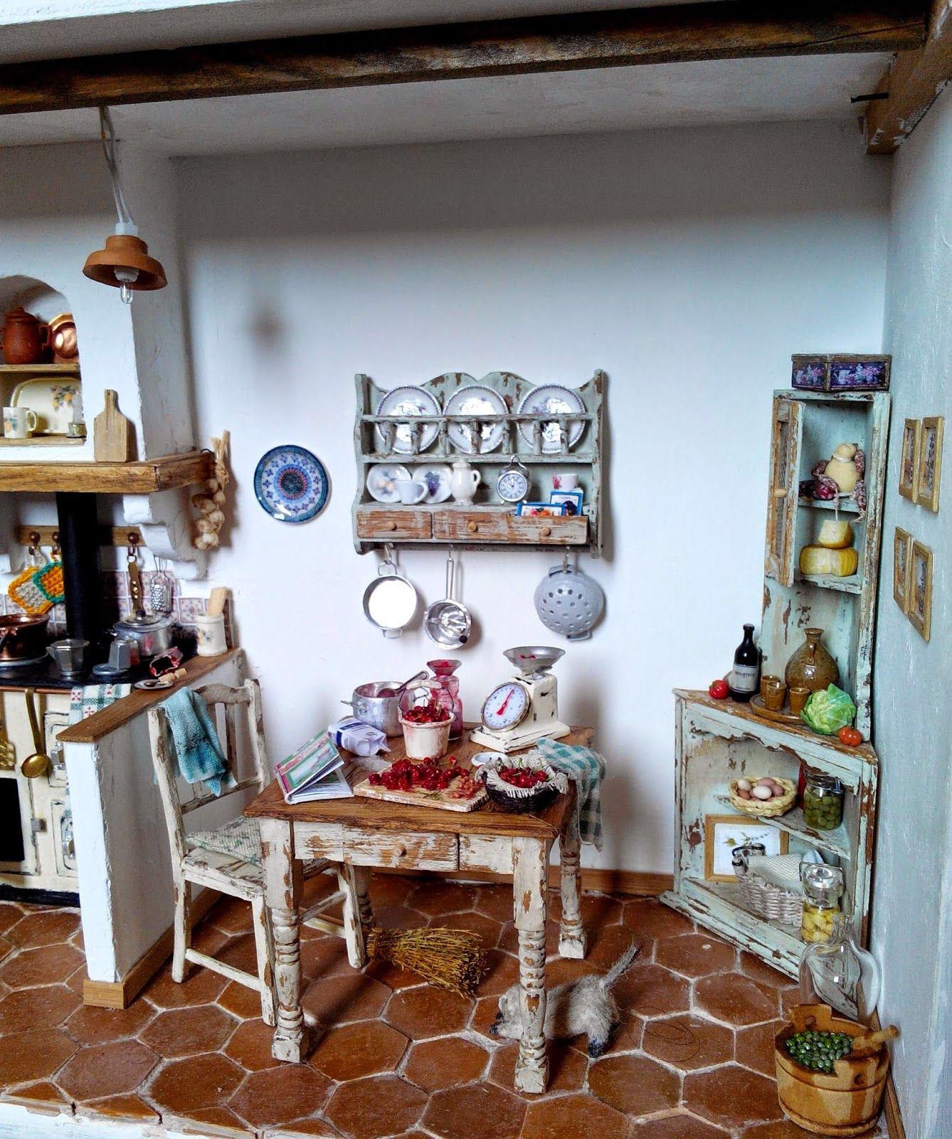 Dolls House miniatura Rosa Shocking Casseruola Pan-cucina-Accessori-Scala 1:12
